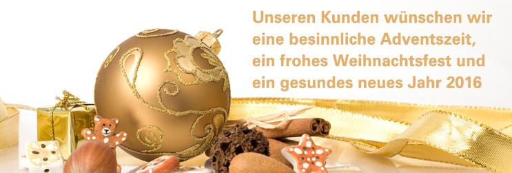 Die Limeshandwerker wünschen frohe Weihnachten 2015